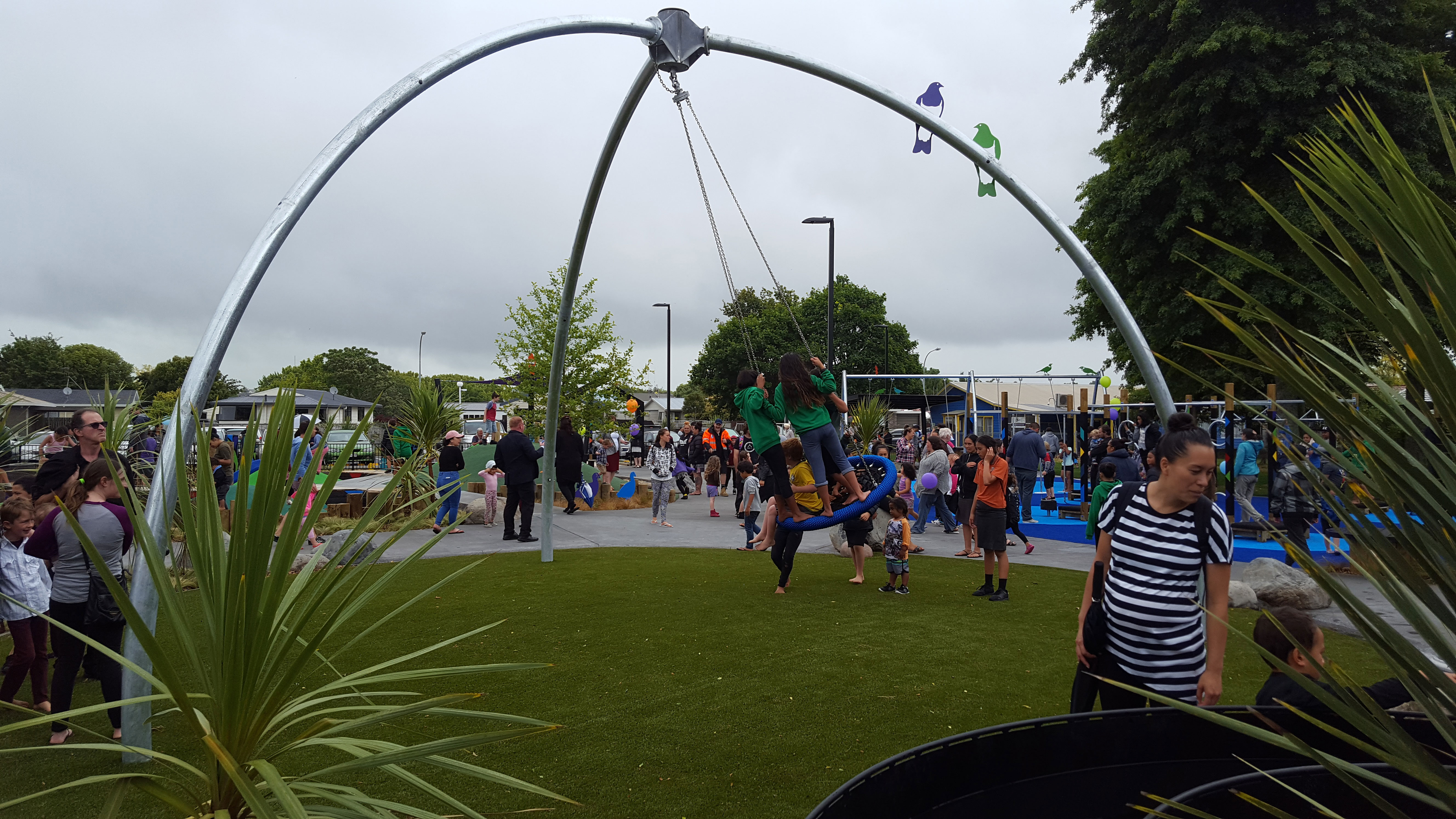 playgrounds and artificial grass