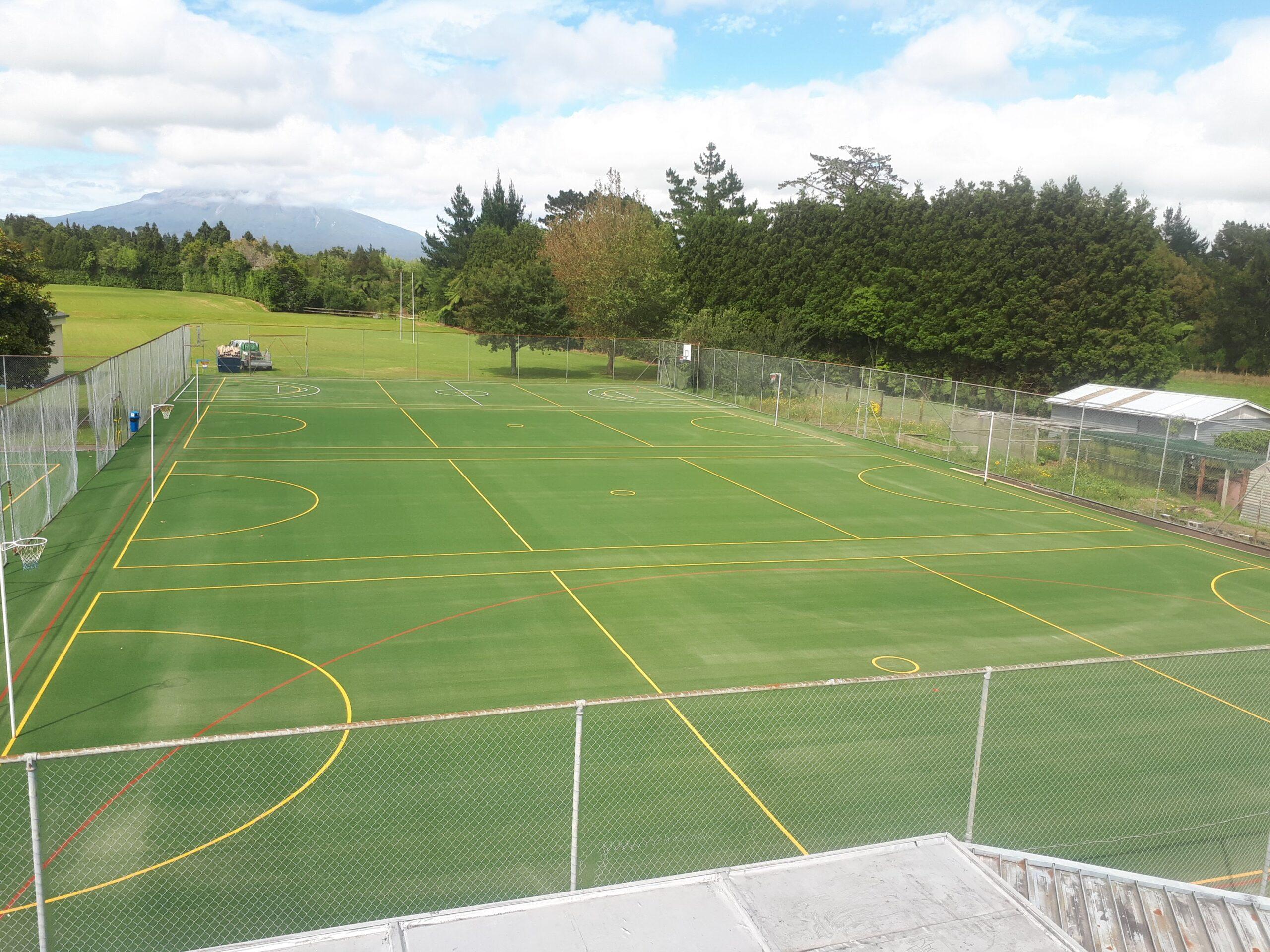 Inglewood school turf